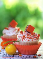 Citrus Cupcakes by theresahelmer