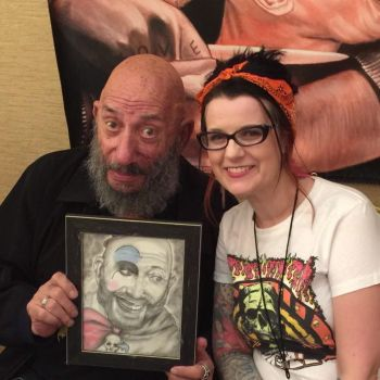 Gifting My Portrait To Sid by LivingDeadGirlNicole