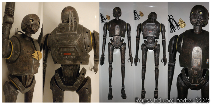 Star Wars Rogue One K-2SO by Royce-Barber