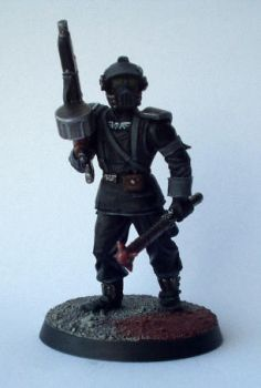 Inquisitor 54mm Guardsman 2 by Conclave81