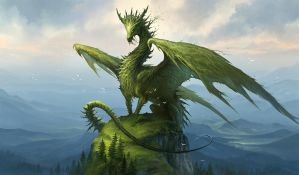 Green Dragon v2 by sandara
