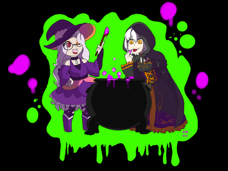 The Witch's Brew by FallenAngel5414