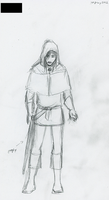 Concept: Panicked Acolyte by DreamingFoxfire