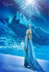 Queen of ice and snow - Elsa Cosplay by Eressea-sama