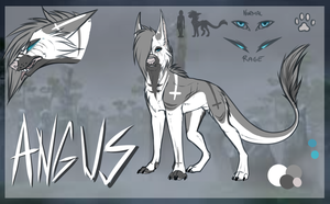 Angus -ref- by KingTrashMouth