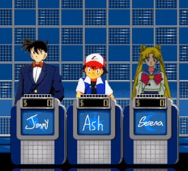 Jeopardy Anime Tournament 1 by cruiseshipz