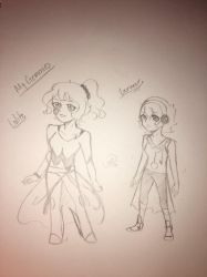 My old OC Gemmies  by Ailizerbee08