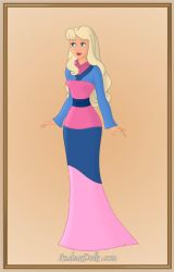 Aurora as Chinese Girl by Heroine-FA-C-n-Xover