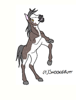 Horse Ship It Result #4 - Arabella x Redmire by mkayswritings