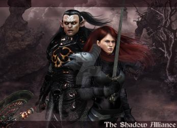 The Shadow Alliance by 3D-Fantasy-Art