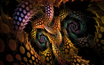 swirls with disco lights by Andrea1981G