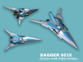 Dagger 603X - 3D model by Cecihoney