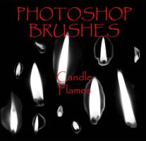 Photoshop CS - Flame Brushes by firebug-stock