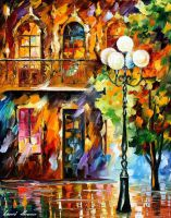 Light Of Love 2 by Leonid Afremov by Leonidafremov