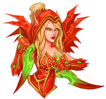 Valeera by Swallowchaser