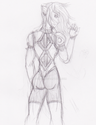 Shakida rough sketch by RATchael