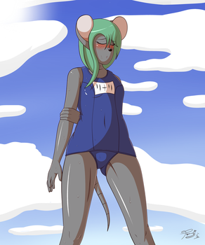 Lily's Swimsuit by ThePsychoDog