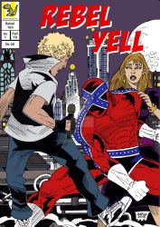 Rebel Yell Issue 1 Cover by ElectricDinosaurArt