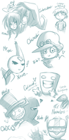 Ustream sketches wooo by Izuma