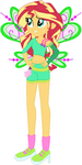 Sunset Shimmer as Roxy by user15432