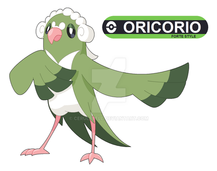 Commission: Oricorio Forte for pokefan-22 by Cerulebell