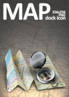 Map Dock Icon by dEGOnstruction