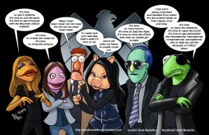 TLIID 231. Muppets of SHIELD by AxelMedellin
