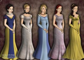Disney Princesses (Game of Thrones) by jjulie98