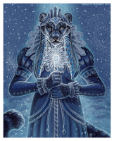 Chione, Queen of Frost by Art-of-Sekhmet