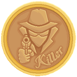 Killer coin icon by Toomanypenguins