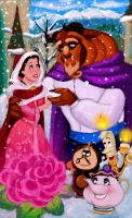 Beauty and the Beast by Kevsoraone