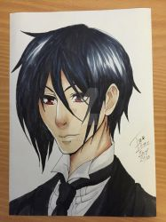 Sebastian Michaelis by tinaditte