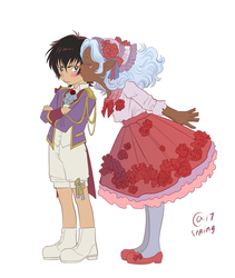 Keith and Allura - kids by Autumn-Sacura