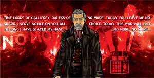 Doctor Who War by CosmicThunder
