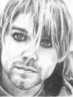 Kurt Cobain by redpoppies