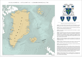 The Icelandic Atlantic Commonwealth. Overview Map by Kuusinen