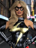 Ms Marvel pose 18 by DahriAlGhul