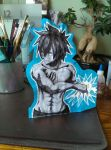 Fullbuster cut out by NoAngelHonestly