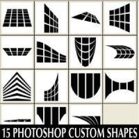 Custom Shapes Set For Photoshop CS by Brushportal