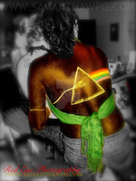 PinkFloyd Body Painting body painting SamanthaWpg by VisualEyeCandy