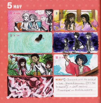 2015 - Kumamon Day Planner - Week 19 by sweet-suzume