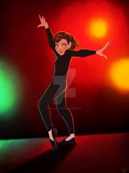 Bohemian Dance - Funny Face by DylanBonner