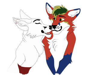 Bliz - Telegram sticker 3 by KathiesCreatures
