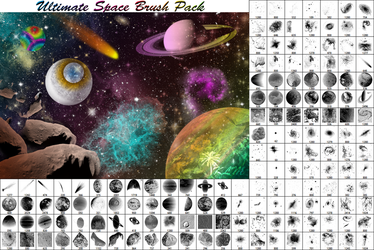 Ultimate Space Brush Pack - Part 2 by JeffrettaLyn