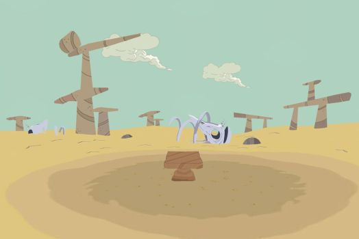 [MMD] Adventure Time - Sand by arisumatio