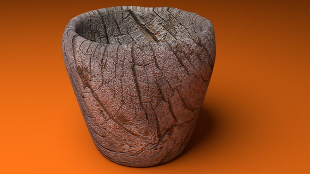 Wood Cup by colorShapes