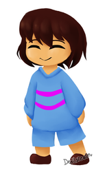 Undertale  The Pacifist Child by DevilsRealm
