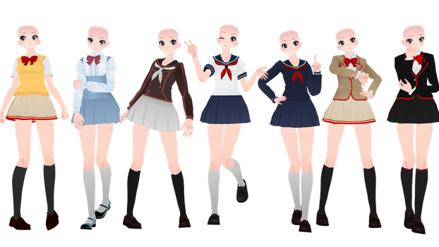 TDA New Yandere Simulator Bases! by LuckyGamer321