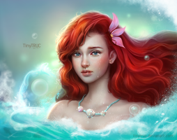 Ariel - The little mermaid by TinyTruc