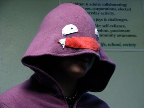 Koffing Hoodie Head by ChompUnchained